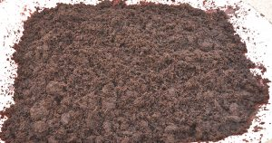 Picture of loose coir pith (dust).