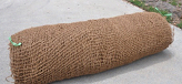 BioD-Mat 60 (unit weight: 600 g/sq.m.) woven bristle coir erosion control mat.