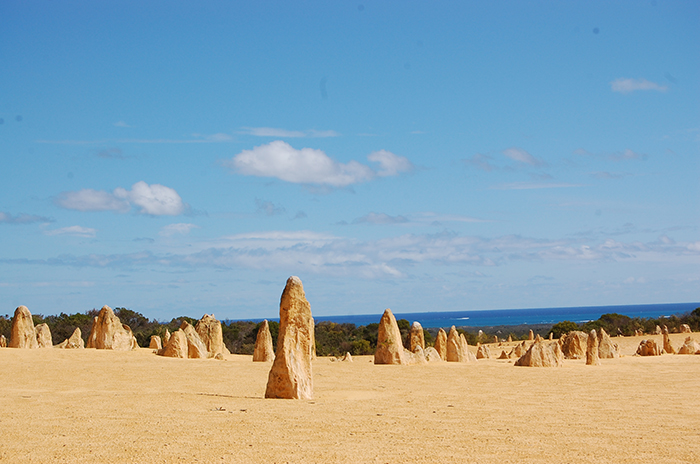 Picture of limestone development in Australia.
