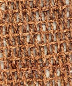 Close-up picture of BioD-Mat 90 woven bristle coir erosion control blanket