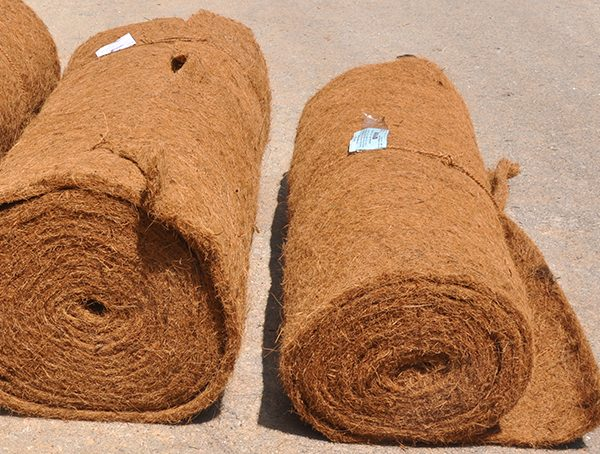 BioD-Liner, needle-punched coir liners for variety of applications.
