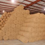 Large inventory of BioD-Mat erosion control blankets in Stockbridge, GA.