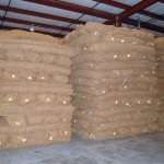 Large inventory of BioD-Block coir block system, in Stockbridge, GA.